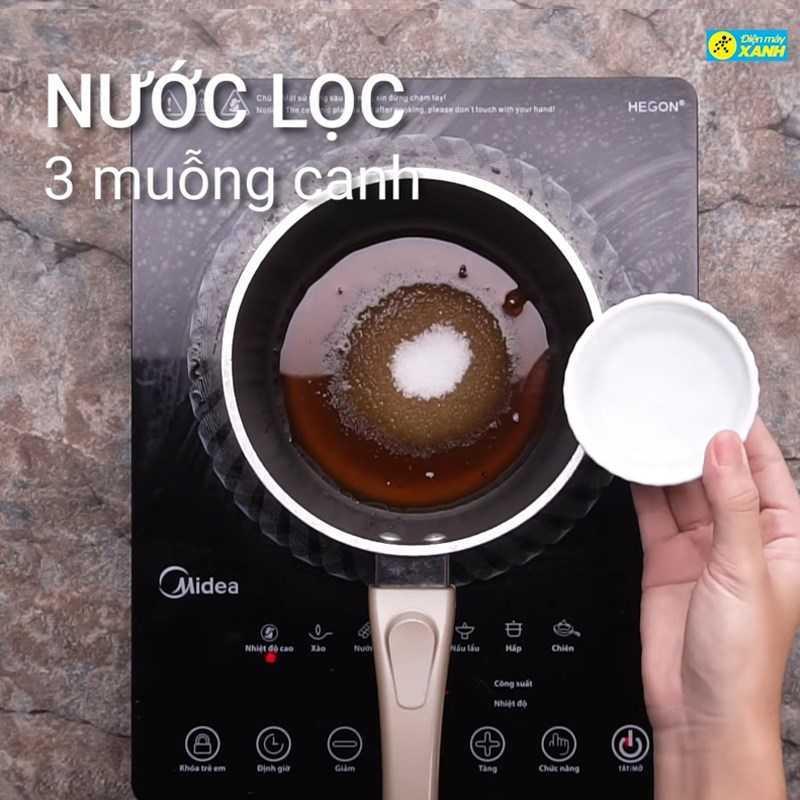 Bước 3 Làm nước mắm và hoàn thành món Cơm niêu Campuchia