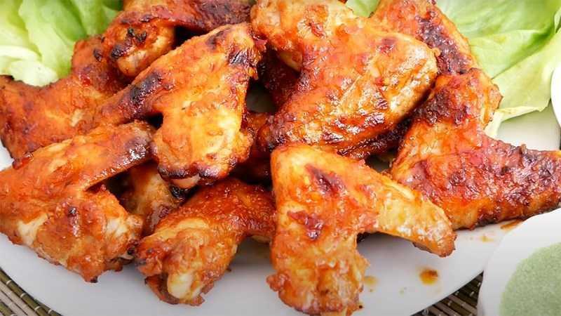 Cách làm cánh gà nướng