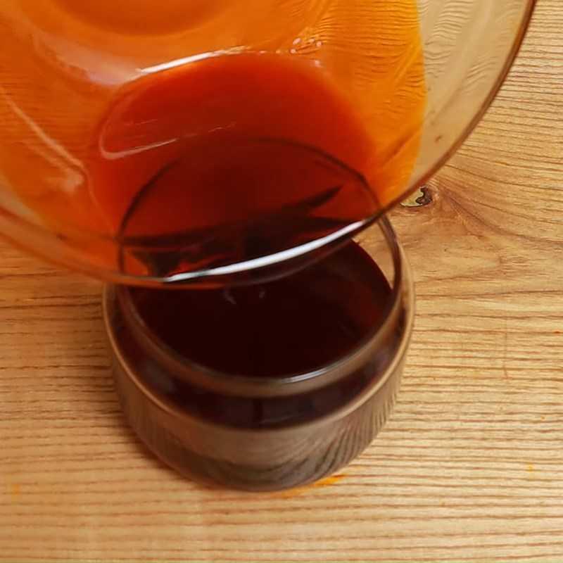 Bước 5 Hoàn thành dầu gấc bằng máy xay sinh tố