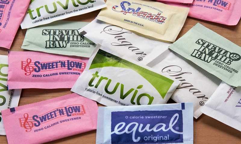Các gói giấy ăn kiêng đường khác nhau