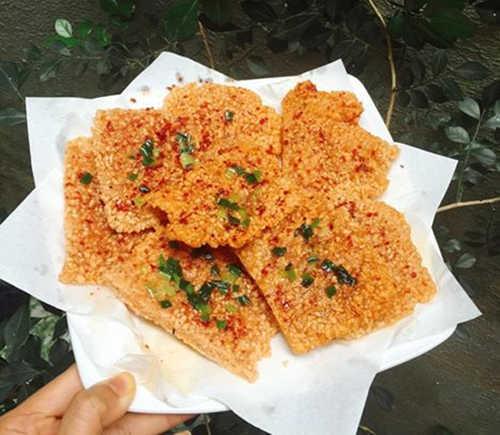 Làm cơm cháy ngon từ gạo nếp thừa - 1