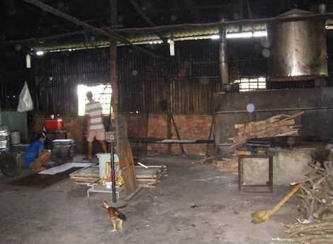Kinh hoàng công nghệ sản xuất cơm cháy chà bông