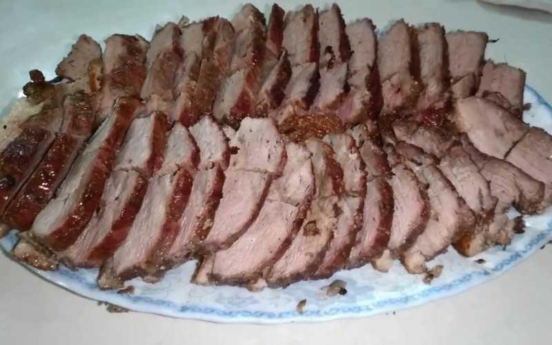 Thịt ngỗng nướng
