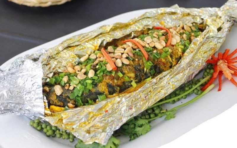 Cá ngừ nướng