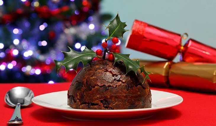 Bánh pudding giáng sinh hôm nay