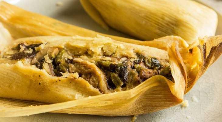 Bánh Tamales rất đa dạng