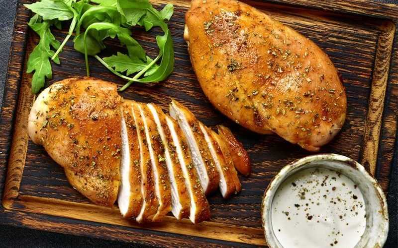Ức gà rất giàu giá trị dinh dưỡng
