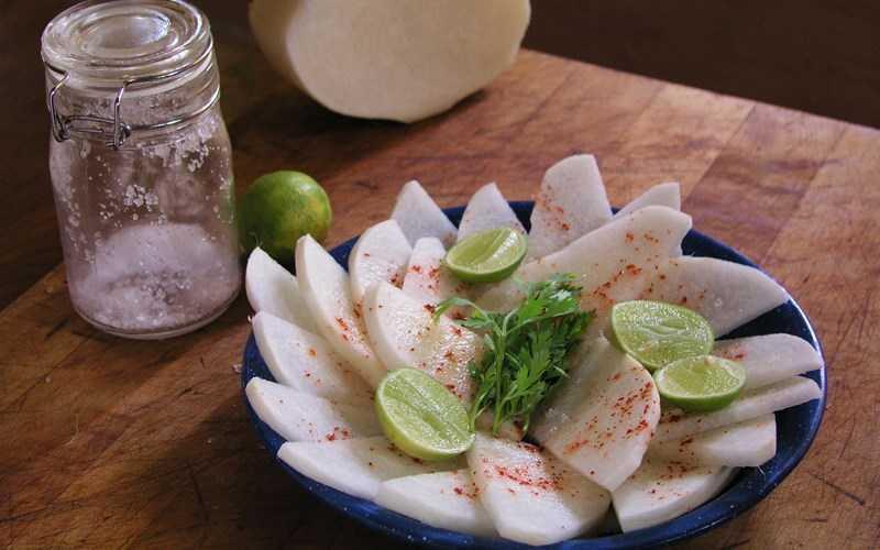 Thành phần dinh dưỡng của jicama