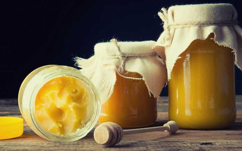 mật ong kết tinh