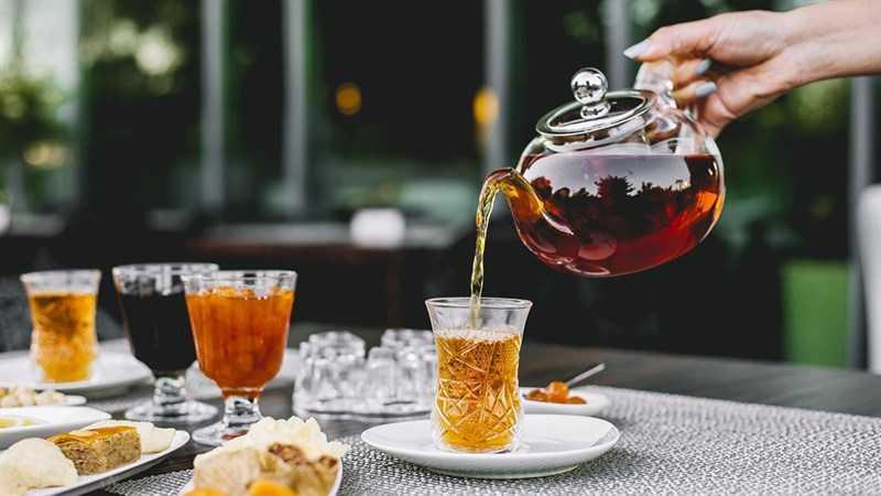 Trà rooibos không chứa caffeine và ít tannin