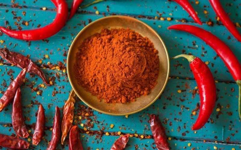 Thành phần dinh dưỡng của ớt cayenne