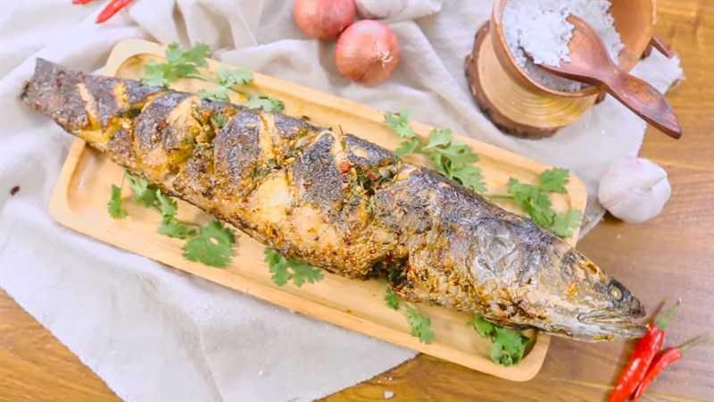 Cá lóc nướng muối ớt