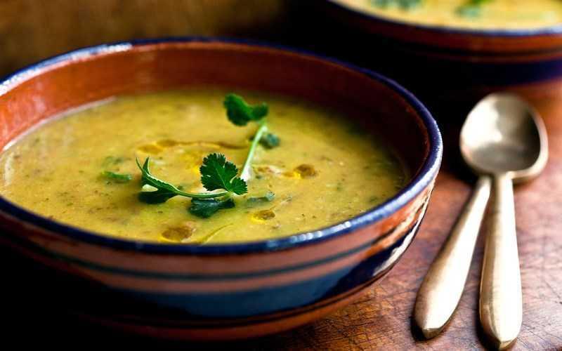 súp đậu rộng