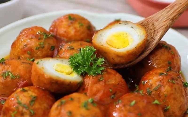 Bánh trứng cút