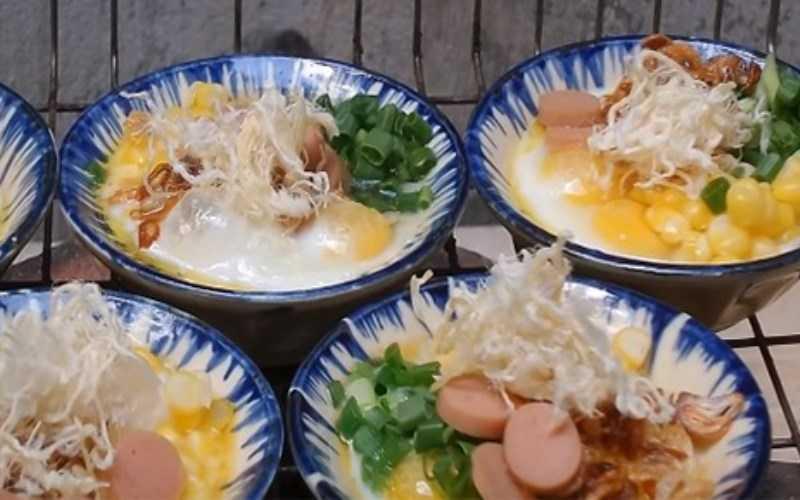 Trứng cút nướng