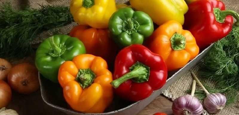 Lycopene được tìm thấy trong ớt chuông
