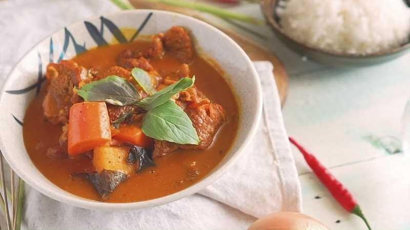 Cà ri nước cốt dừa
