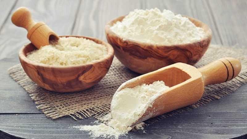 Phân biệt bột gạo tẻ và bột gạo nếp