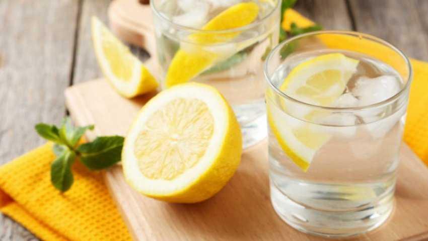 Tác dụng của nước chanh và đồ uống