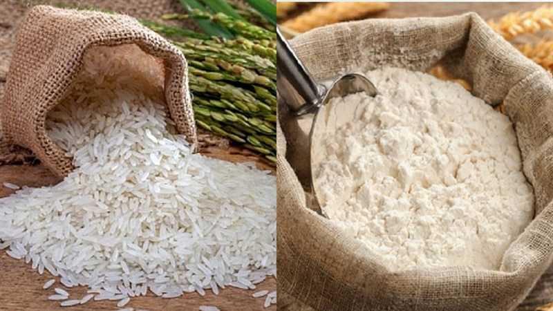 Thành phần món ăn siro gạo lứt