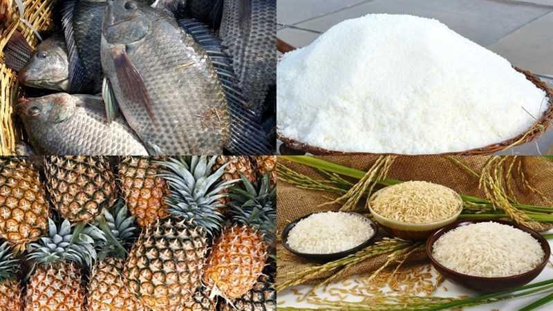 Nguyên liệu món mắm cá rô đồng