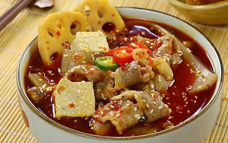 Mì chua cay Trùng Khánh