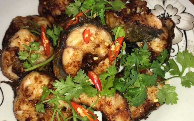 Lươn nướng muối ớt