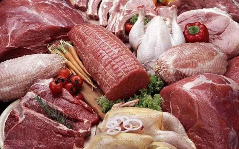 các loại thịt