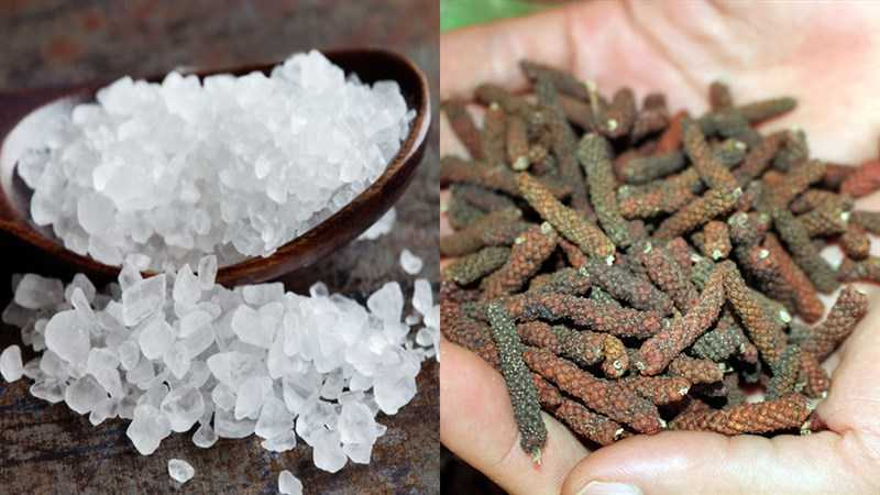 Nguyên liệu món lốp xe muối tiêu