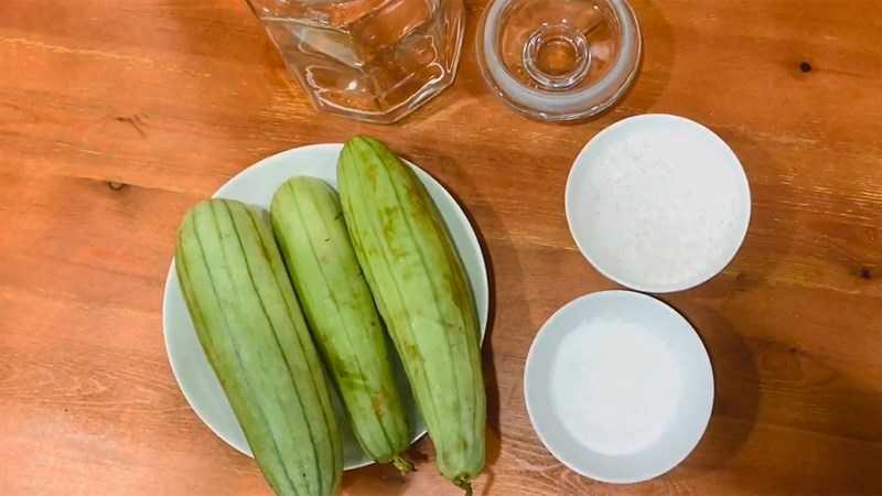 Nguyên liệu món dưa cải chua