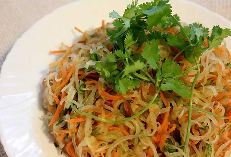 Salad hàu cà rốt
