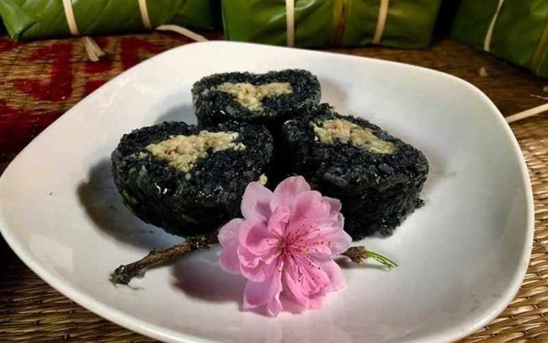 Bánh chưng đen của người Tày ở Lạng Sơn