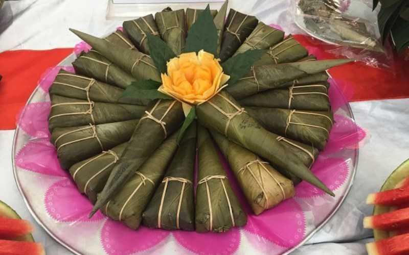 Bánh của người Tày ở Thái Nguyên