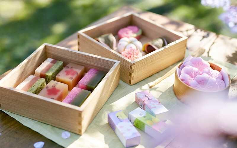 nguồn gốc của wagashi