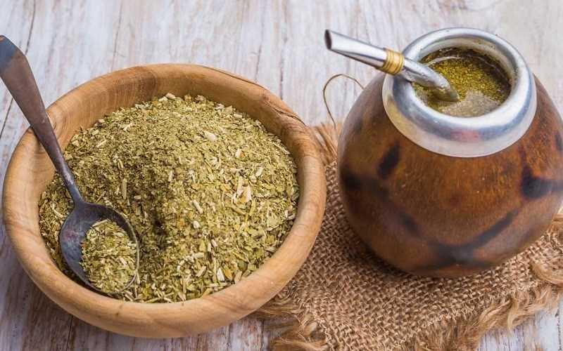 Yerba mate là một loại thực phẩm có chứa caffein
