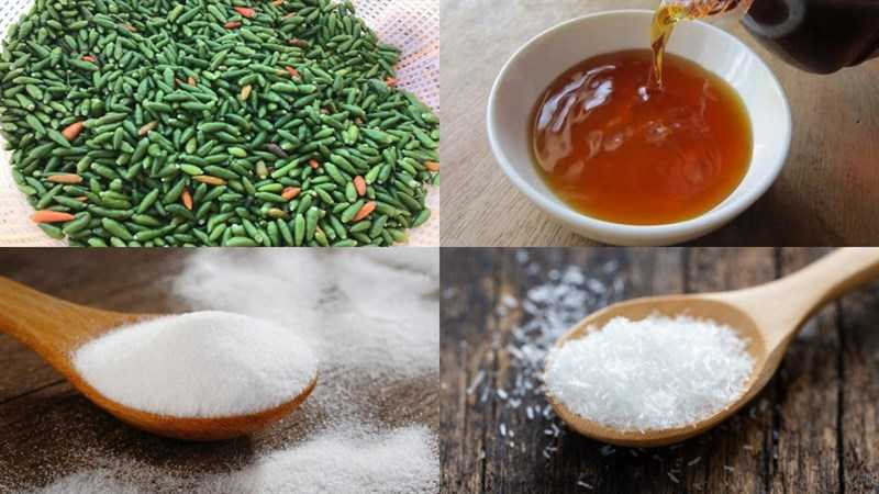 Nguyên liệu món ớt ngâm nước mắm