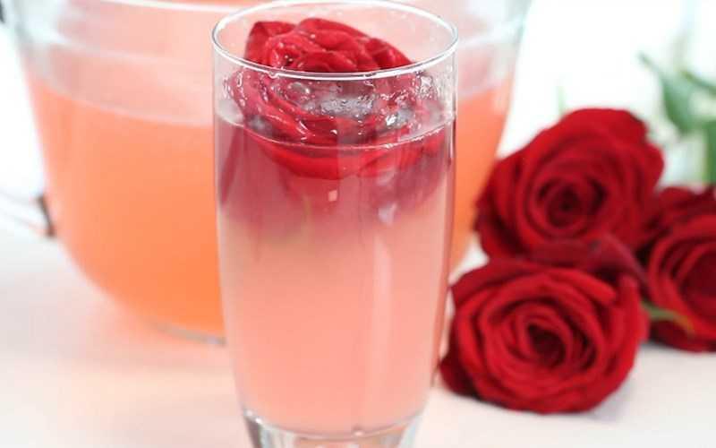 soda hoa hồng