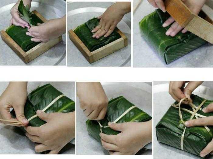 Nên gói bánh vừa phải, không quá chặt hoặc quá lỏng.