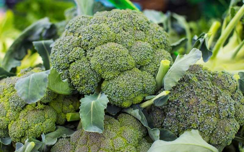 Biotin được tìm thấy trong bông cải xanh