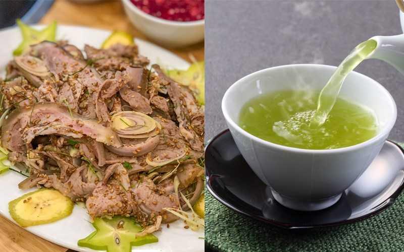 Thịt dê, thịt chó và chè