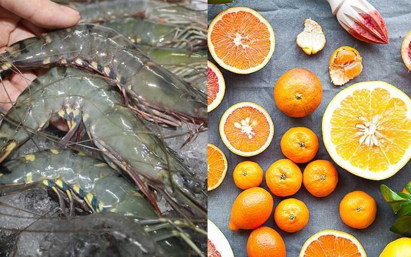 �ộng vật có v� trong nước và thực phẩm chứa vitamin C