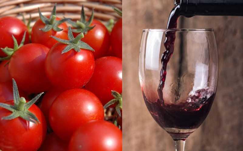 Cà chua và rượu