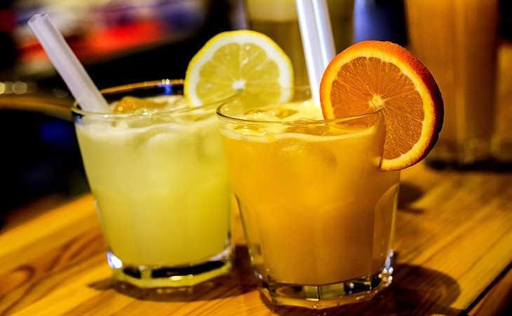 Nước cam, nước chanh