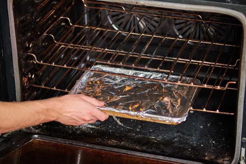 hâm nóng thức ăn trong lò