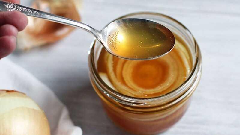 Hành tây ngâm mật ong
