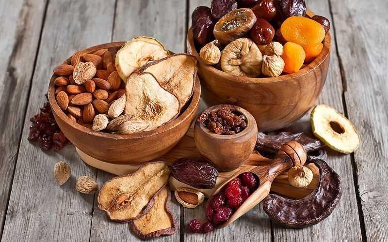 Làm thế nào để làm khô trái cây và rau quả