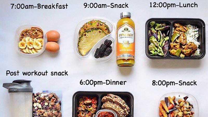 Ăn đủ chất và chia nhỏ bữa ăn