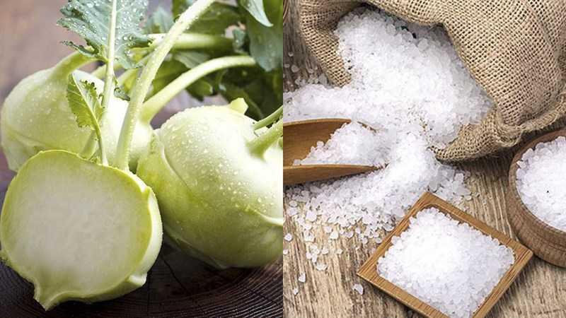 Các thành phần của món ăn được sấy khô
