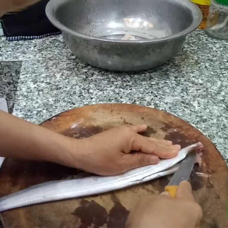 Bước 1 Sơ chế cá khô