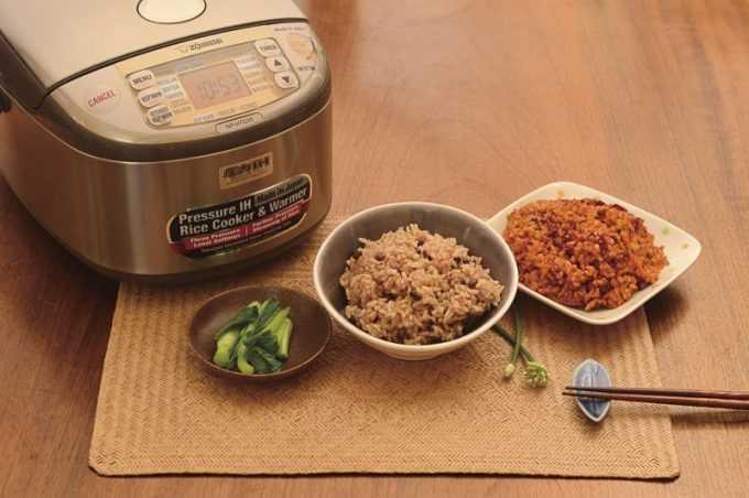 Nấu gạo lứt bằng nồi cơm điện